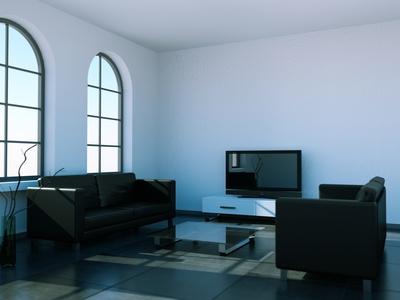 Wohnzimmer schwarz weiss